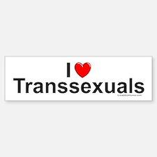 Transsexuals Car Car Sticker