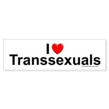 Transsexuals Car Sticker