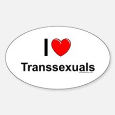 Transsexuals Sticker (Oval)