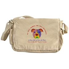 Pit Bull Owners Are Blessed Messenger Bag