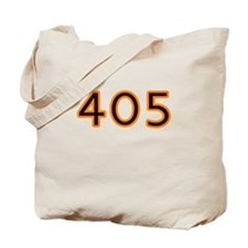 405 orange Tote Bag