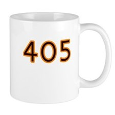 405 orange Mugs