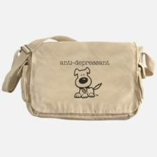 Anti Depressant Messenger Bag