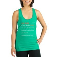 Definition of CAT LADY Racerback Tank Top