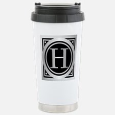 Deco Monogram H Travel Mug