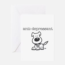 Anti Depressant Greeting Cards