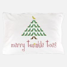 Merry Twinkle Toes Pillow Case