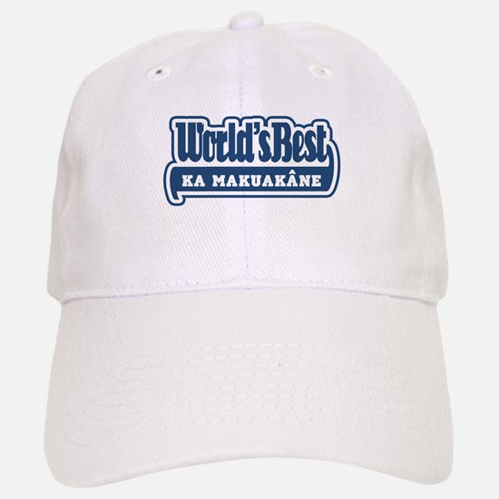 WB Dad [Hawaiian] Baseball Baseball Cap