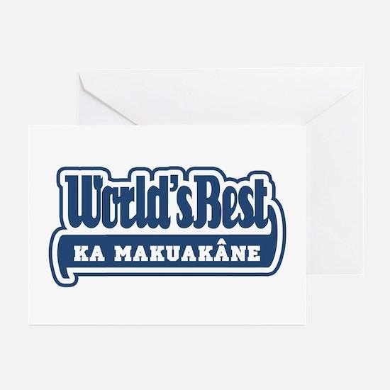 WB Dad [Hawaiian] Greeting Cards (Pk of 10)