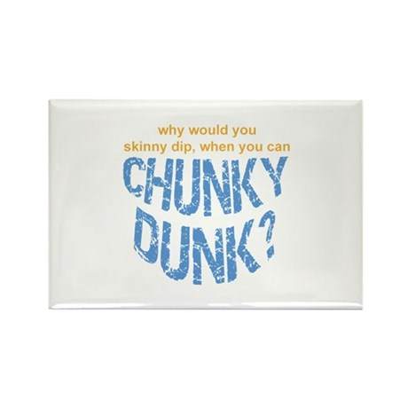 Chunky Dunk Rectangle Magnet (100 pack)