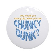 Chunky Dunk Ornament (Round)