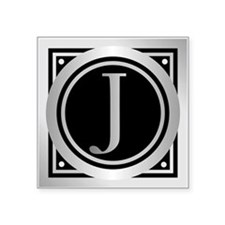 Deco Monogram J Sticker