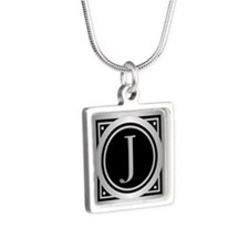 Deco Monogram J Necklaces