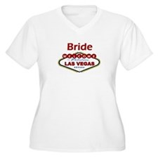 Las Vegas Bride Deep Red T-Shirt