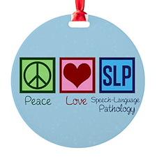 Speech-Language Pathology. Ornament