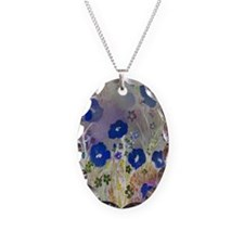 Magical Cobalt Floral Necklace