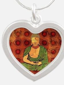 Cute Religion Silver Heart Necklace