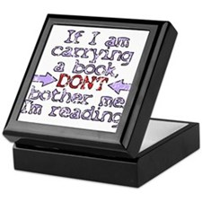 Im reading. Keepsake Box