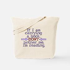 Im reading. Tote Bag
