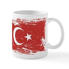 Grunge Turkey Flag Mugs
