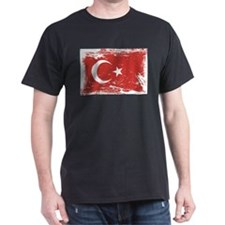Grunge Turkey Flag T-Shirt