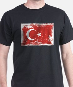 Grunge Turkey Flag T-Shirt