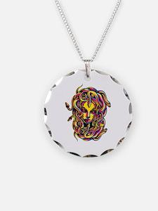 CMYK Medusa Necklace