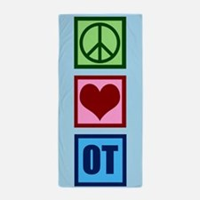 Peace Love OT Beach Towel