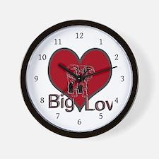 Big Love ~ Wall Clock