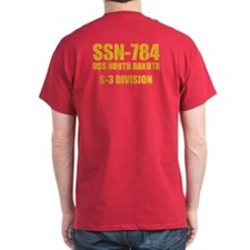 Personalized Uss North Dakota T-Shirt