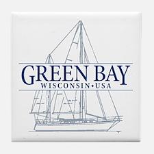 Green Bay - Tile Coaster