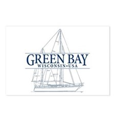 Green Bay - Postcards (Package of 8)