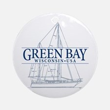 Green Bay - Ornament (Round)