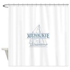 Milwaukee - Shower Curtain