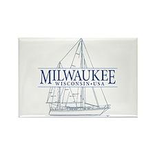 Milwaukee - Rectangle Magnet