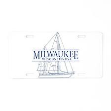 Milwaukee - Aluminum License Plate