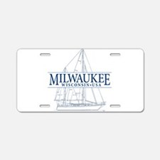 Milwaukee - Aluminum License Plate