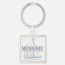 Milwaukee - Square Keychain