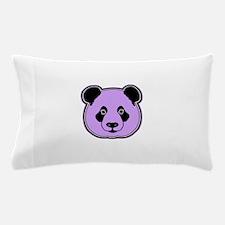 panda head plum Pillow Case