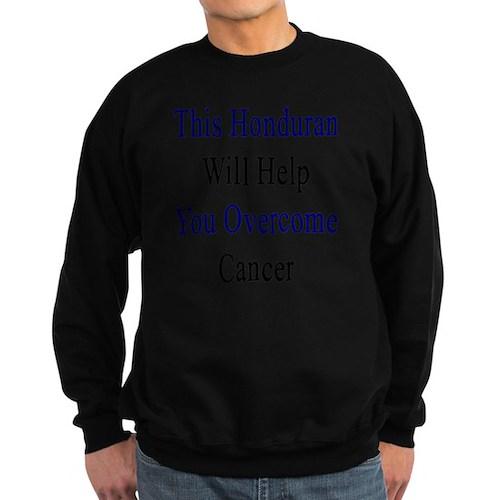 This Honduran Will Help You Over Sweatshirt (dark)