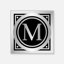 Deco Monogram M Sticker