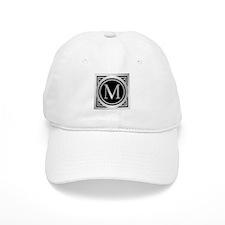 Deco Monogram M Baseball Baseball Cap