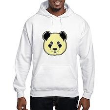 panda head lemon Hoodie