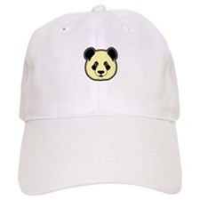 panda head lemon Baseball Cap