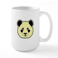 panda head lemon Mug