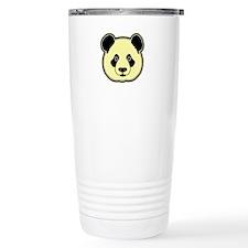 panda head lemon Travel Mug
