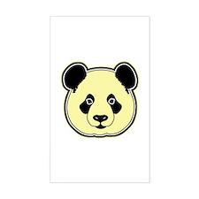 panda head lemon Decal