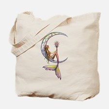 Mermaid Moon Fantasy Art Tote Bag