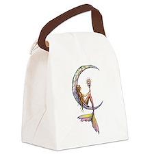Mermaid Moon Fantasy Art Canvas Lunch Bag