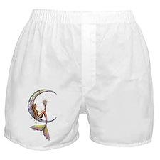 Mermaid Moon Fantasy Art Boxer Shorts